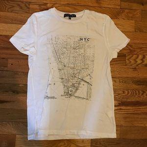 UO NYC White T-Shirt